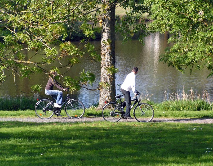 Promenade à vélos