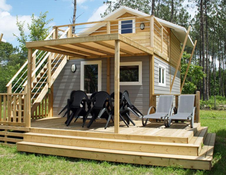 Lodge en bois